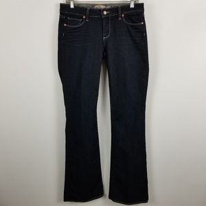 Paige Skyline Bootcut Womens Dark Wash Jeans 29x34